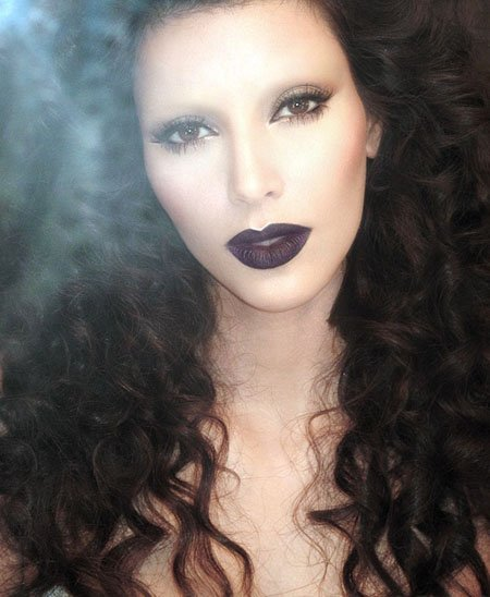 kim-kardashian-gothic-look