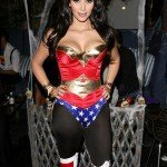 Kim Kardashian attends her Halloween party hosted by PAMA at Sto