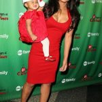 Christina Milian and daughter Violet Nash