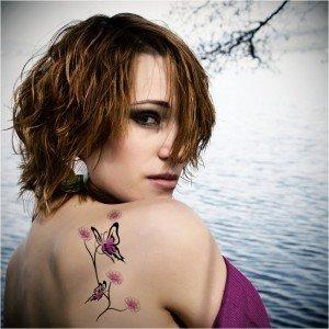 Tatuajele cu model de fluture