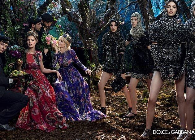 campania Dolce & Gabbana pentru toamna-iarna 2014_