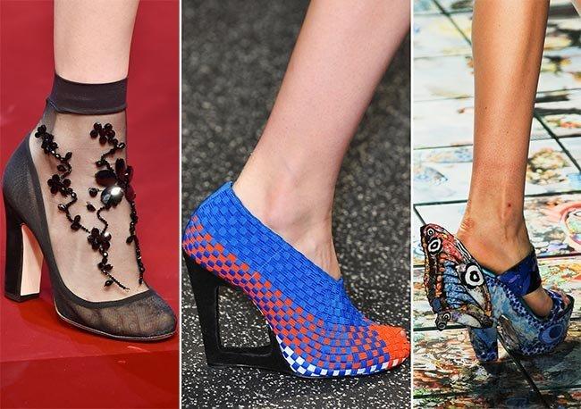 tendinte pantofi primavara 2015