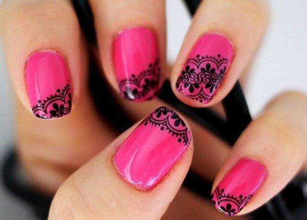 roz unghii
