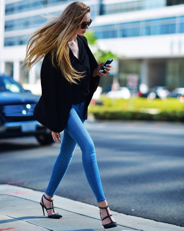 Skinny Jeans and Jeggings